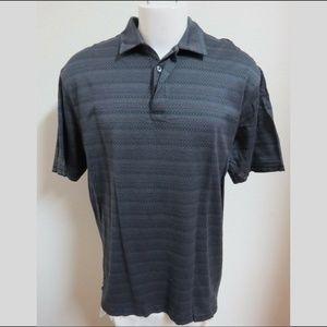 XL Blue TIGER WOODS NIKE Men Cotton #94S Golf Polo